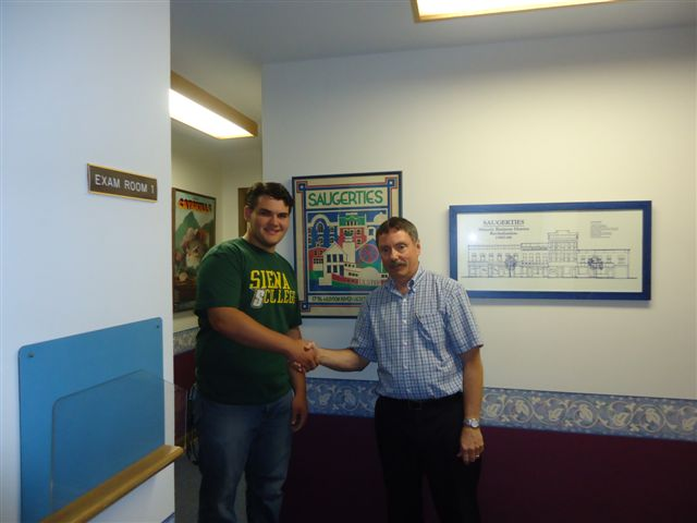 2013 Eric Beresheim, Attending Siena College, Major: Business